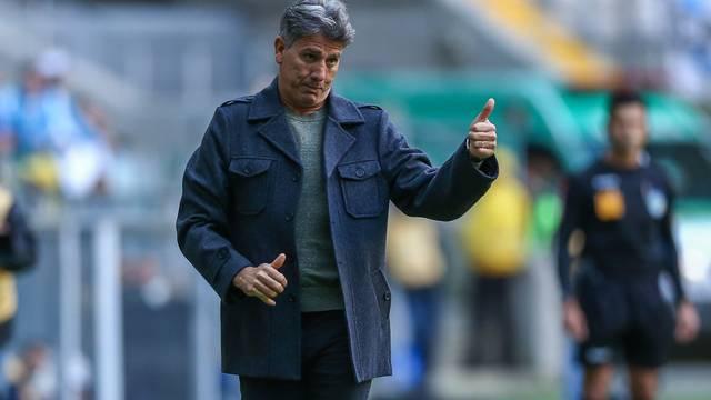 Renato Gaúcho, técnico do Grêmio