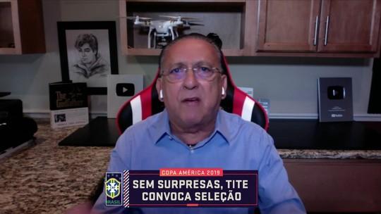 Galvão Bueno questiona ausências de Vinicius Júnior e Fabinho na lista de Tite