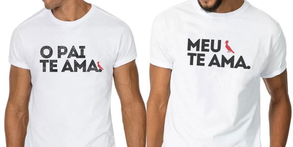 -  Camisetas da marca Reserva usavam versos da música  Deu onda , de MC G15, sem autorização do cantor  Foto: Reprodução