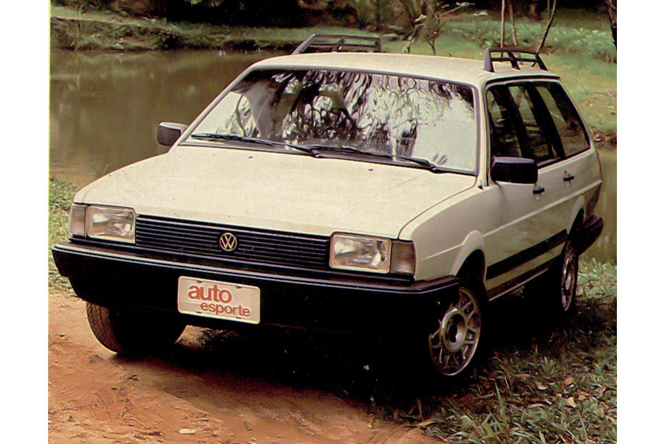 Volkswagen Quantum, perua derivada da linha Santana (Foto: Arquivo/Autoesporte)