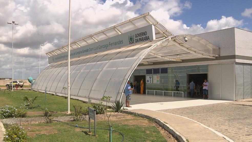 As duas vítimas foram levadas para o Hospital de Trauma de Campina Grande (Foto: Reprodução/TV Paraíba/Arquivo)
