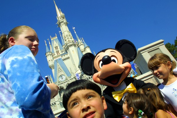O parque Magic Kingdom da Disney, localizado no estado da Flórida (Foto: Getty Images)