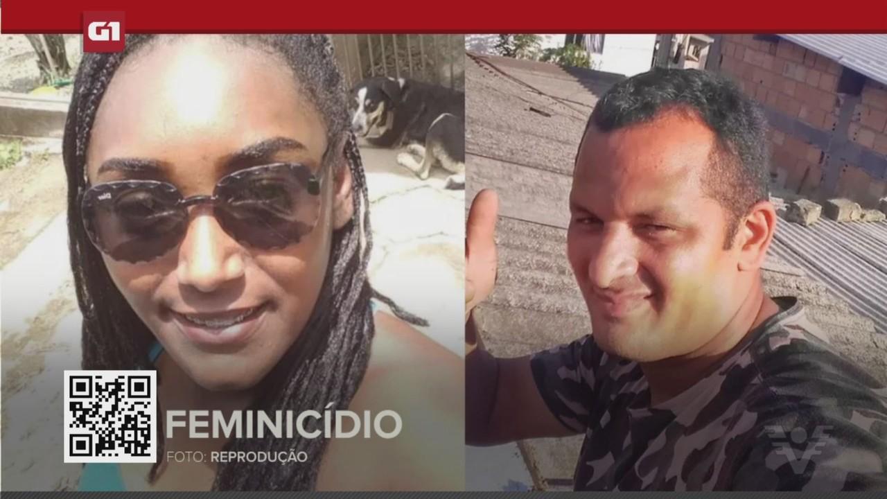 G1 em 1 Minuto - Santos: Homem mata ex-mulher e se mata na frente dos filhos dela