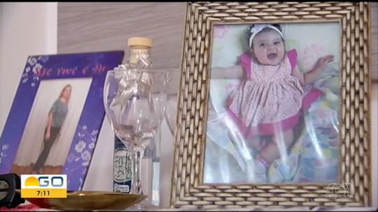 Mãe relata 'desespero' ao ver filha de 1 ano morta após ser agredida pelo padrasto em Santa Rita do Araguaia