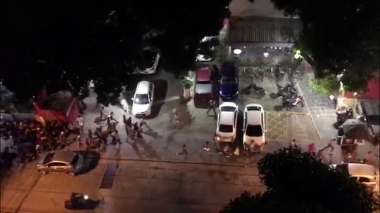Integrantes de torcida organizada do Sport são detidos em confusão na sede do Náutico
