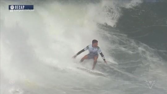 Confira os bastidores da etapa brasileira do Mundial de Surfe