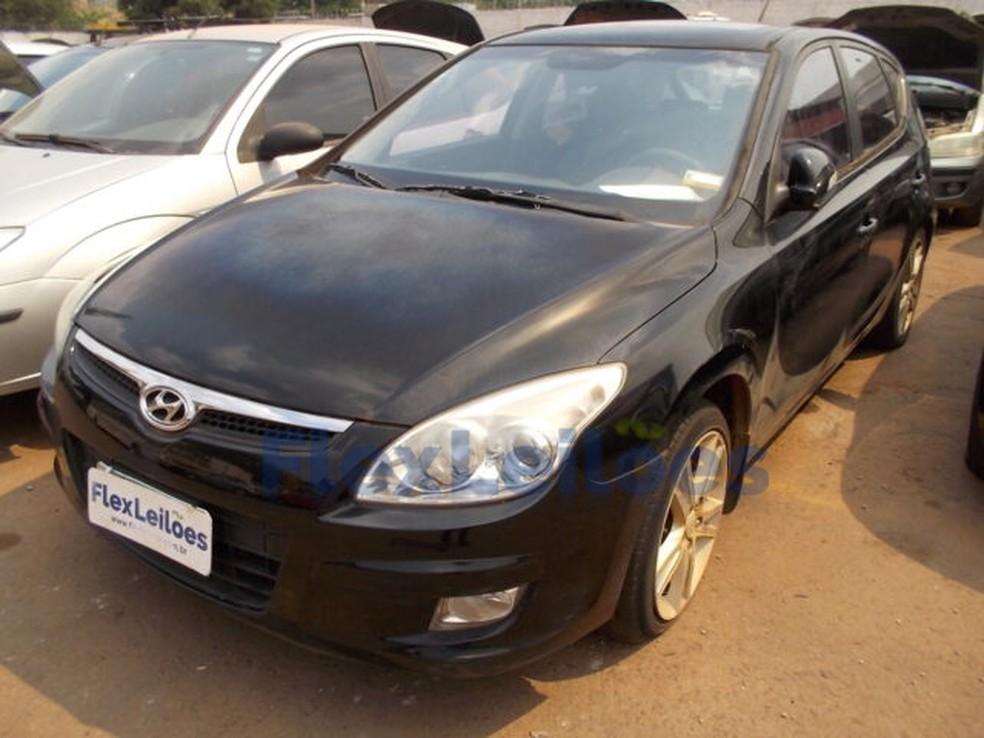 Carro à venda no leilão do Detran-DF — Foto: Flexleilões/ Divulgação