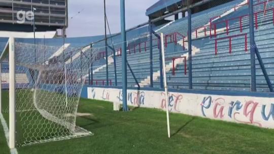 """Vento, gramado irregular e """"bafo na nuca"""" esperam Inter em palco das oitavas da Libertadores"""