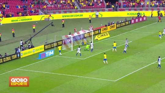 Seleção masculina goleia Honduras