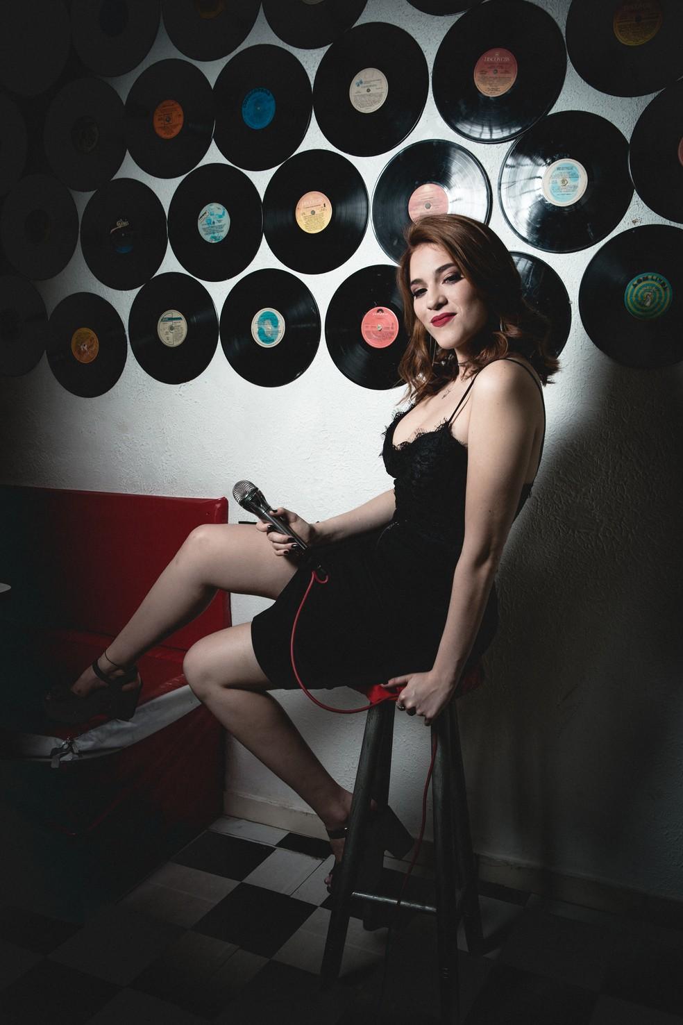 Música é uma das paixões da ex-sister Ana Clara  (Foto: Isabella Pinheiro/ Gshow)
