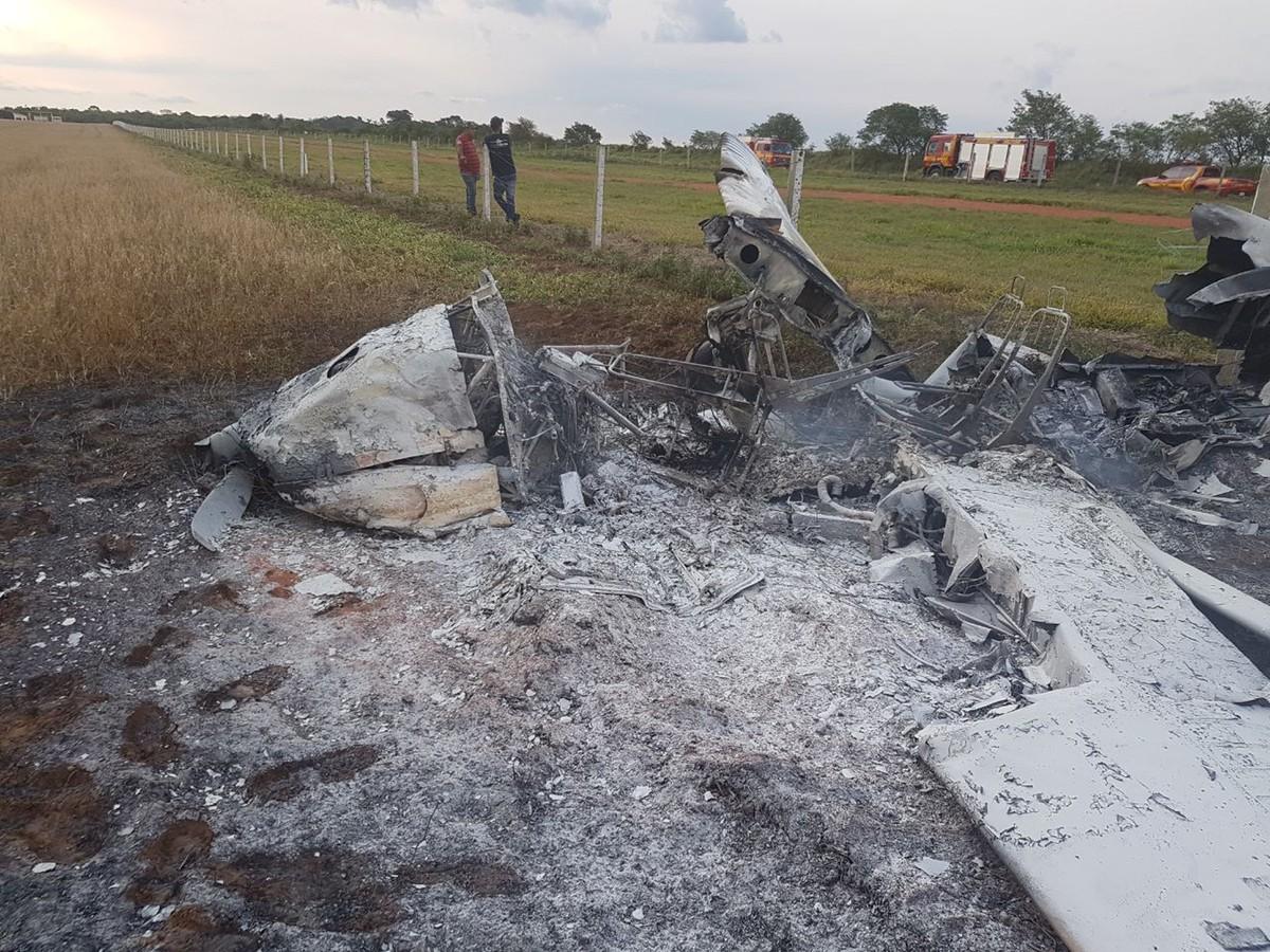 Seripa faz primeiros procedimentos de investigação em avião que pegou fogo e feriu dois em MS, diz FAB