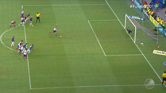 Confira o gol de Bahia 1 x 0 Bahia de Feira