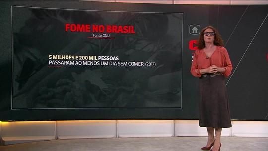 'O brasileiro come mal; alguns passam fome', afirma Jair Bolsonaro