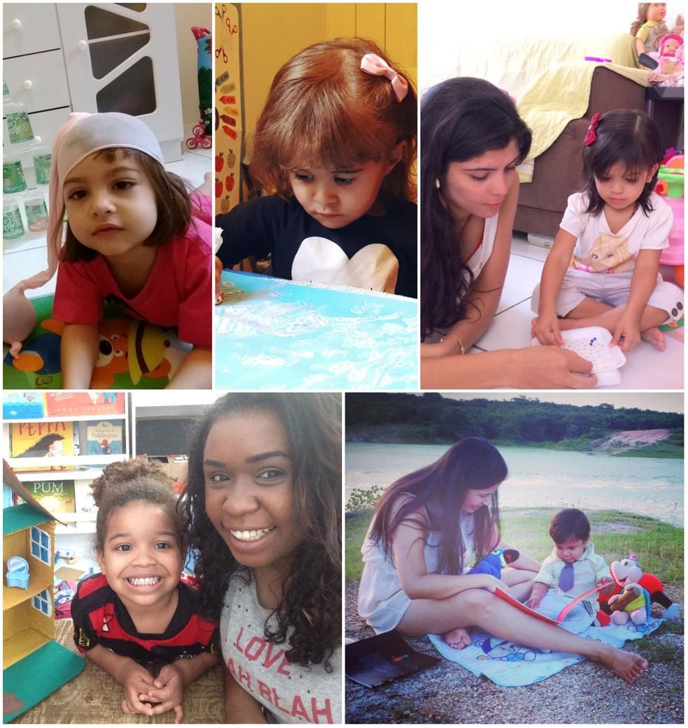 -  Mães reservam um tempo para brincar com filhos  Foto: Reprodução/Arquivo Pessoal