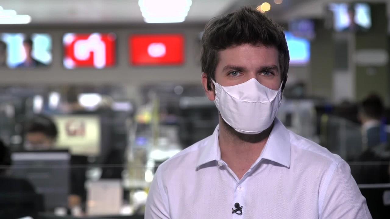 G1 em 1 Minuto: Ibaneis diz que pode haver isolamento rígido no DF