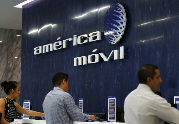 Escritório da América Móvil na Cidade do México (Foto: Henry Romero/Reuters)