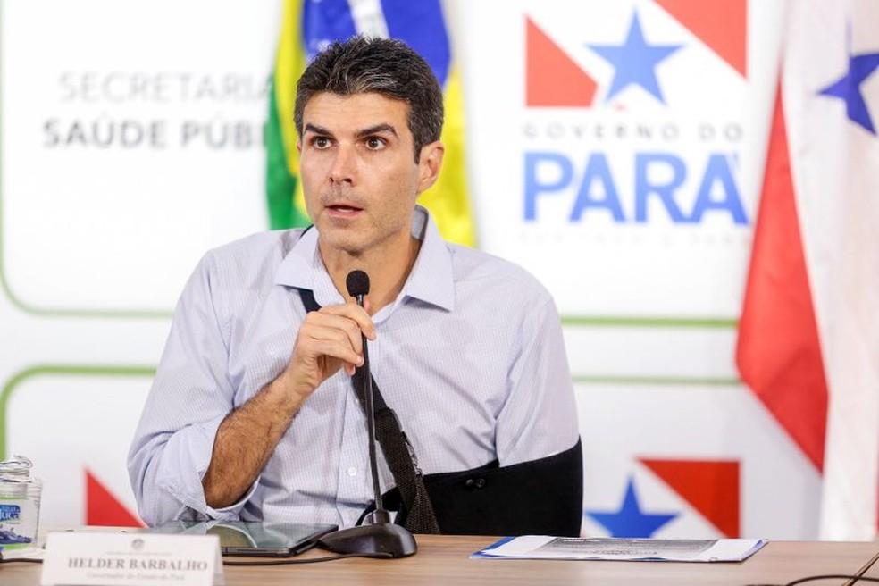 Helder Barbalho, governador do Pará — Foto: Reprodução / Agência Pará