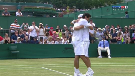 Com grande virada, Melo e Kubot avançam às quartas em Wimbledon
