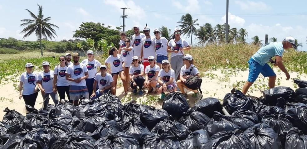 Dia Mundial da Limpeza reúne 5 mil voluntários em Natal; meta é recolher 16 toneladas de lixo | Rio Grande do Norte | G1