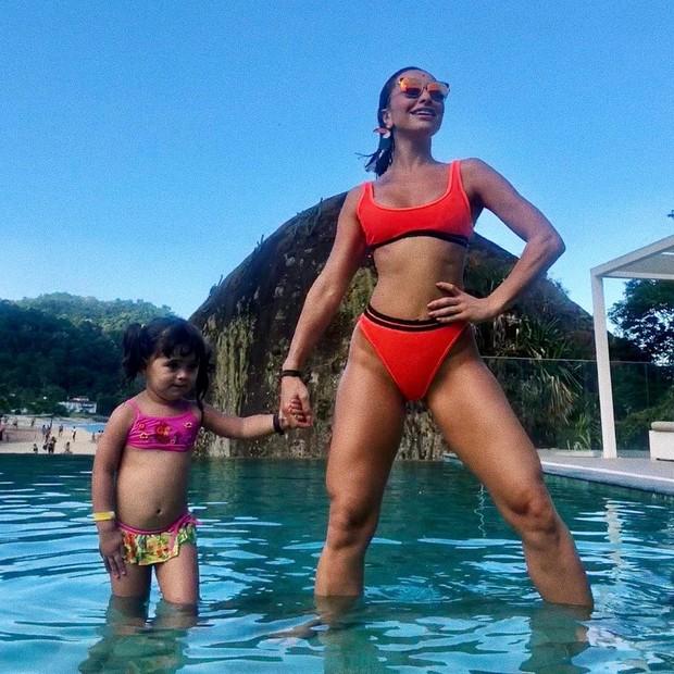 Sabrina Sato e a sobrinha (Foto: Reprodução/Instagram)