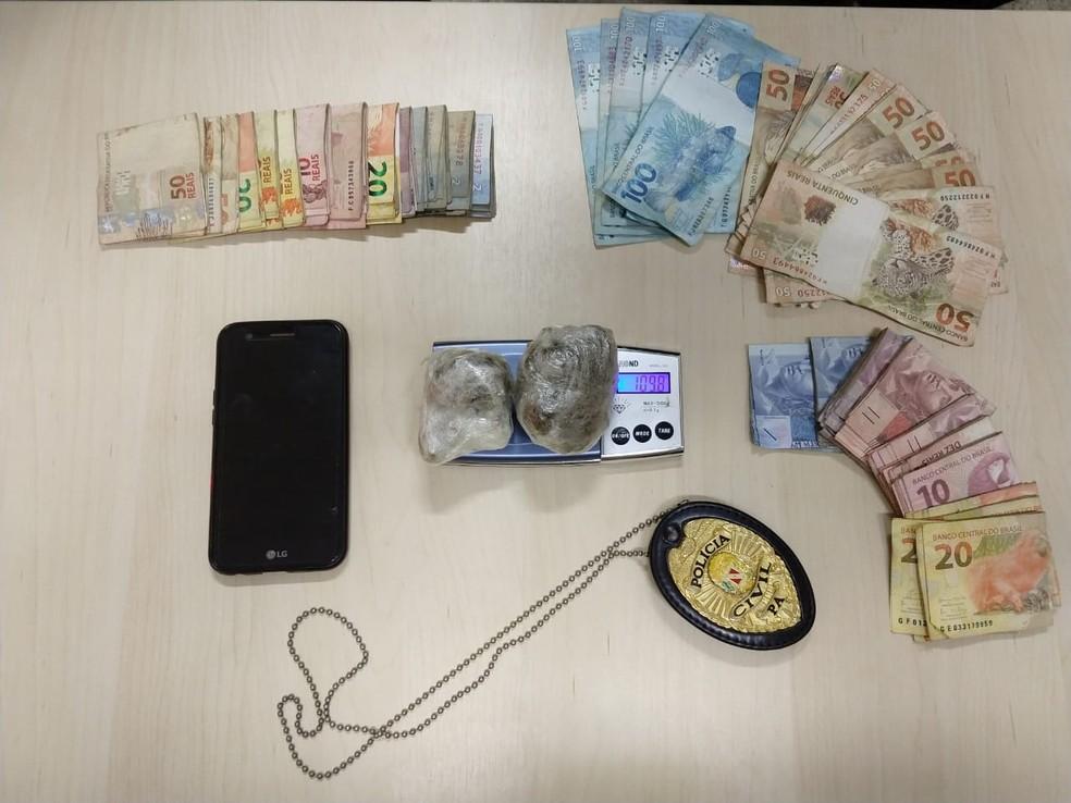 whatsapp image 2019 04 08 at 07.29.16 - Operação policial prende em flagrante homem suspeito de tráfico de drogas em Oriximiná