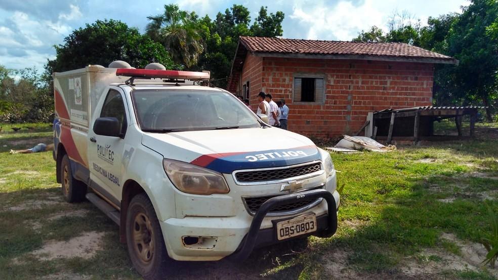 Genésio da Silva foi encontrado morto. — Foto: Célio Serafim/TVCA