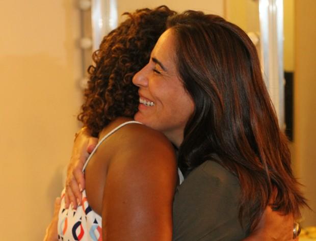 Gloria Pires e Margareth Menezes (Foto: Wallace Barbosa/AgNews)