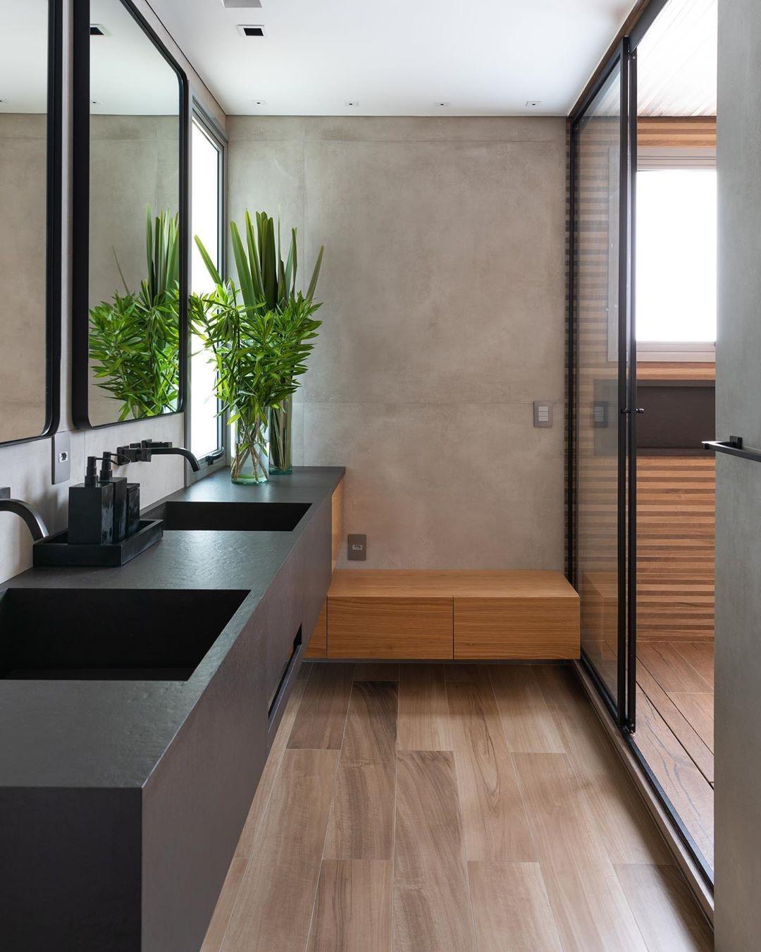Como decorar banheiro: ideias e dicas para não errar (Foto: Lufe Gomes)