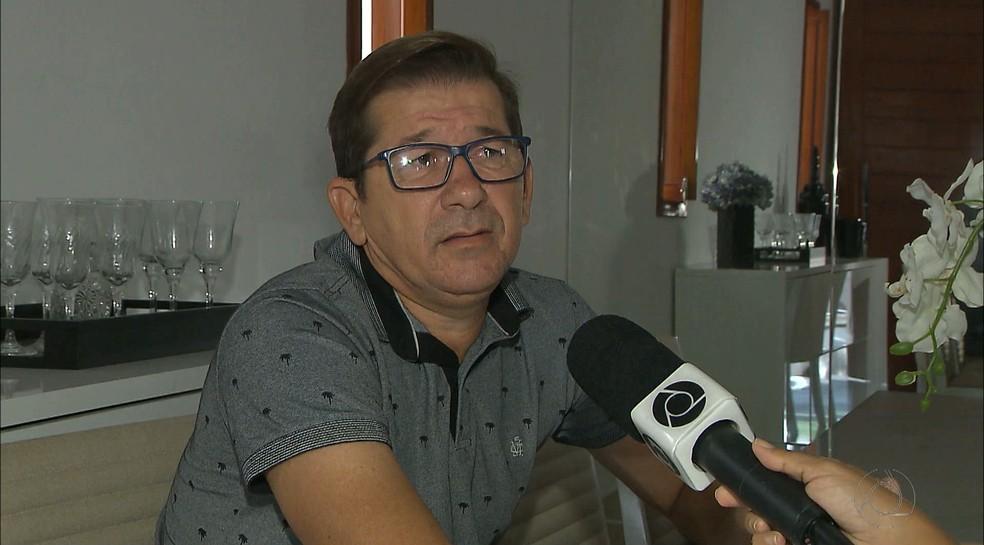 José Renato, ex-presidente da Ceaf-PB, é apontado pela polícia como um dos principais responsáveis pelo esquema de manipulação (Foto: Reprodução / TV Cabo Branco)