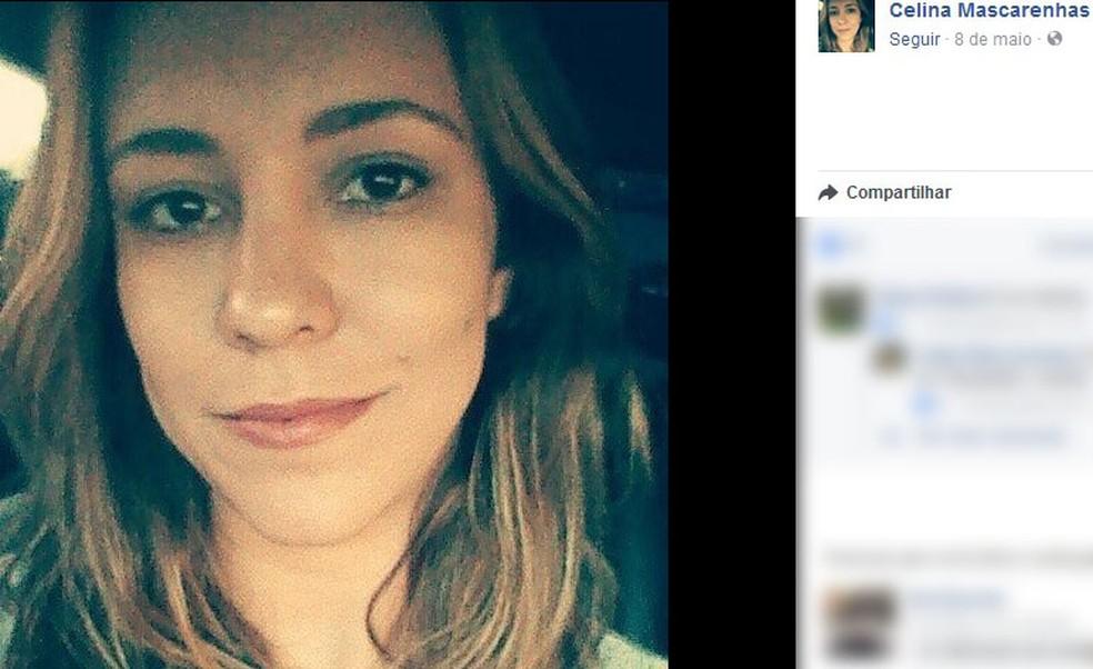 Mulher foi morta pelo ex-marido, que é policial militar, no Centro de SP (Foto: Reprodução/Facebook)