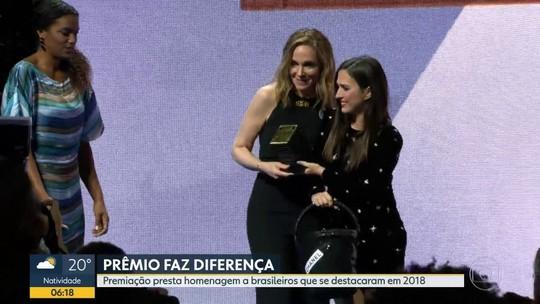 Premio Faz Diferença homenageia destaques de 2018