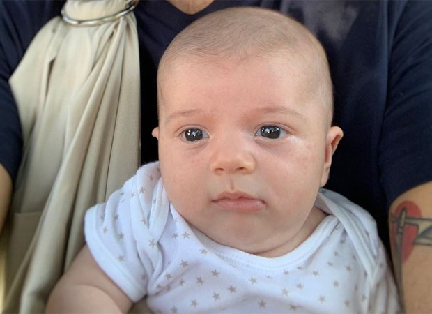 Gaspar, filho caçula de Letícia e Juliano Cazarré (Foto: Reprodução/Instagram)