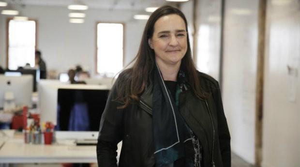 Tina Roth-Eisenberg, fundadora da Tattly (Foto: Reprodução/CNBC)