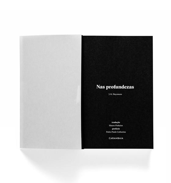 Edição da editora Carambaia de Nas Profundezas (Foto: Divulgação)