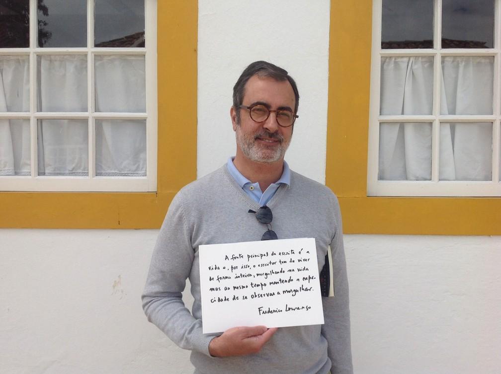 O português Frederico Lourenço, tradutor da 'Bíblia' do grego para o português, recomenda: '