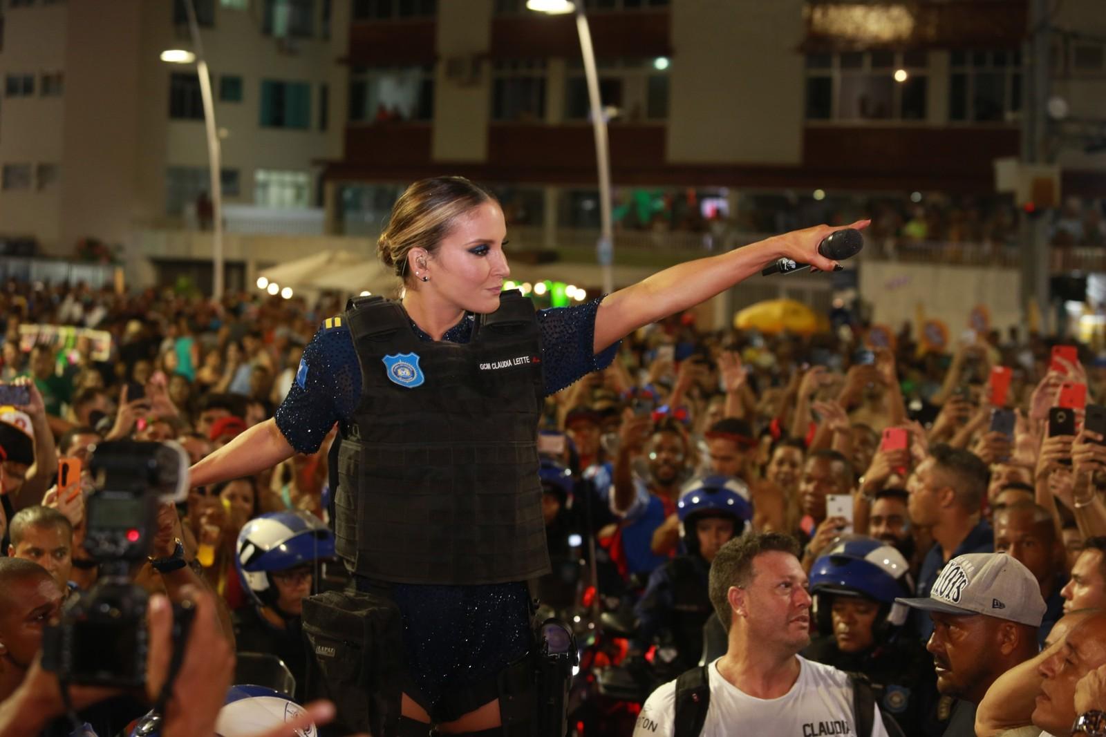 Primeiro dia de carnaval de Salvador 2020 - circuito Barra/Ondina — Foto: Mauro Zaniboni /Ag Haack