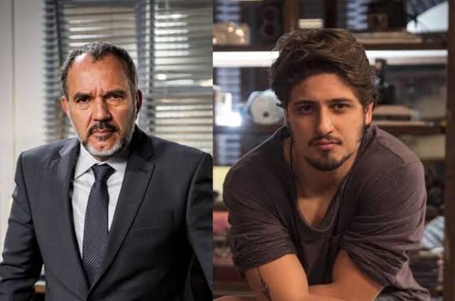 Germano (Humberto Martins) e Rafael (Daniel Rocha) (Foto: TV Globo)