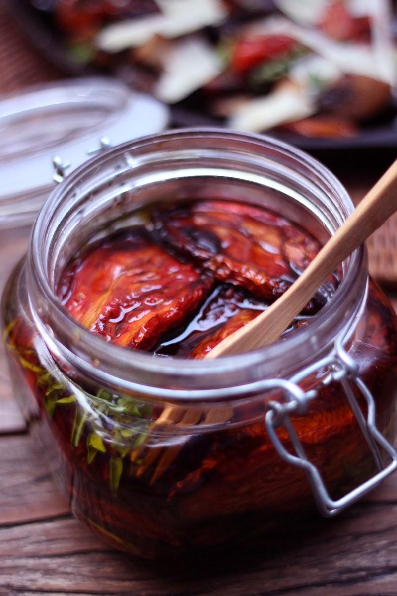 Tomate seco: você também pode fazer em casa (Foto: Larissa Januário)