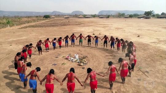Índios xavantes são os guardiões da Serra do Roncador