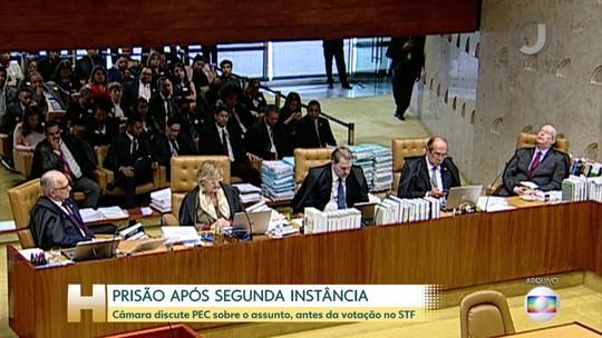 CCJ da Câmara discute PEC sobre prisão após segunda instância antes da votação no STF