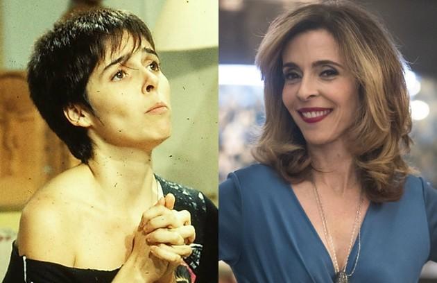 No ar como a Lyris de 'A dona do pedaço', Deborah Evelyn interpretou Flávia, filha de Jorge (Otávio Augusto) e Walquíria (Juliana Carneiro) (Foto: TV Globo )