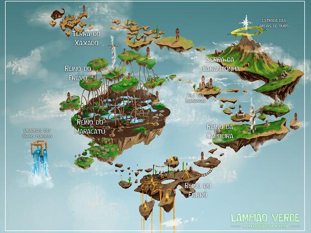 jogo de mapa G1   Jogo paraibano mescla características do Sertão herói dos  jogo de mapa