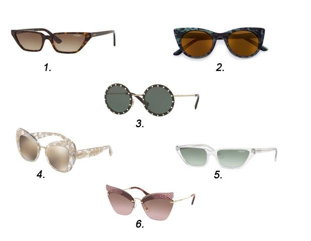 Modelos de óculos de sol para você experimentar (Foto: Divulgação)