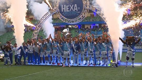 Golaço, vitória, 800 jogos de Fábio e festa do hexa no Horto: a última vez que Cruzeiro recebeu a Chape
