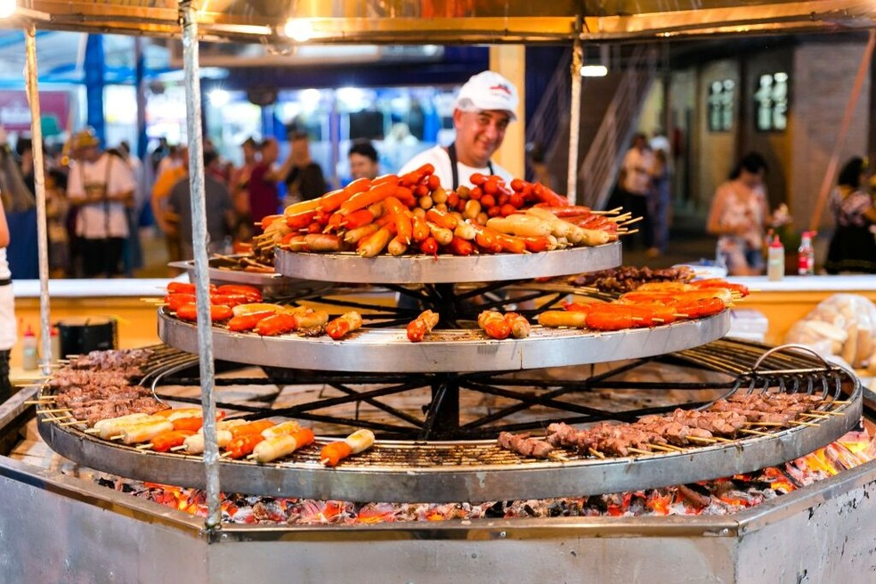 Gastronomia estará presente até nas competições da festa (Foto: Daniel Zimmermann/Festa Pomerana)