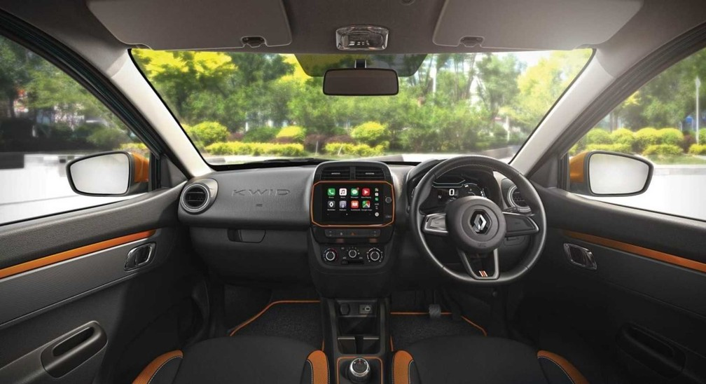 Interior of the limber version - Photo: Press Release / Renault