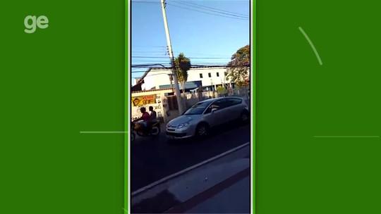 1ea364795c O dia seguinte  manchas de sangue e medo no entorno do Nilton Santos