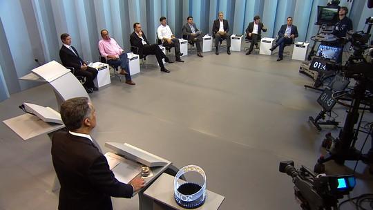 Debate da TV Globo Minas reúne oito candidatos à Prefeitura de BH