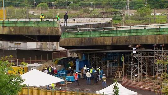 Prefeitura e governo de SP sabiam desde 2012 que viaduto estava comprometido
