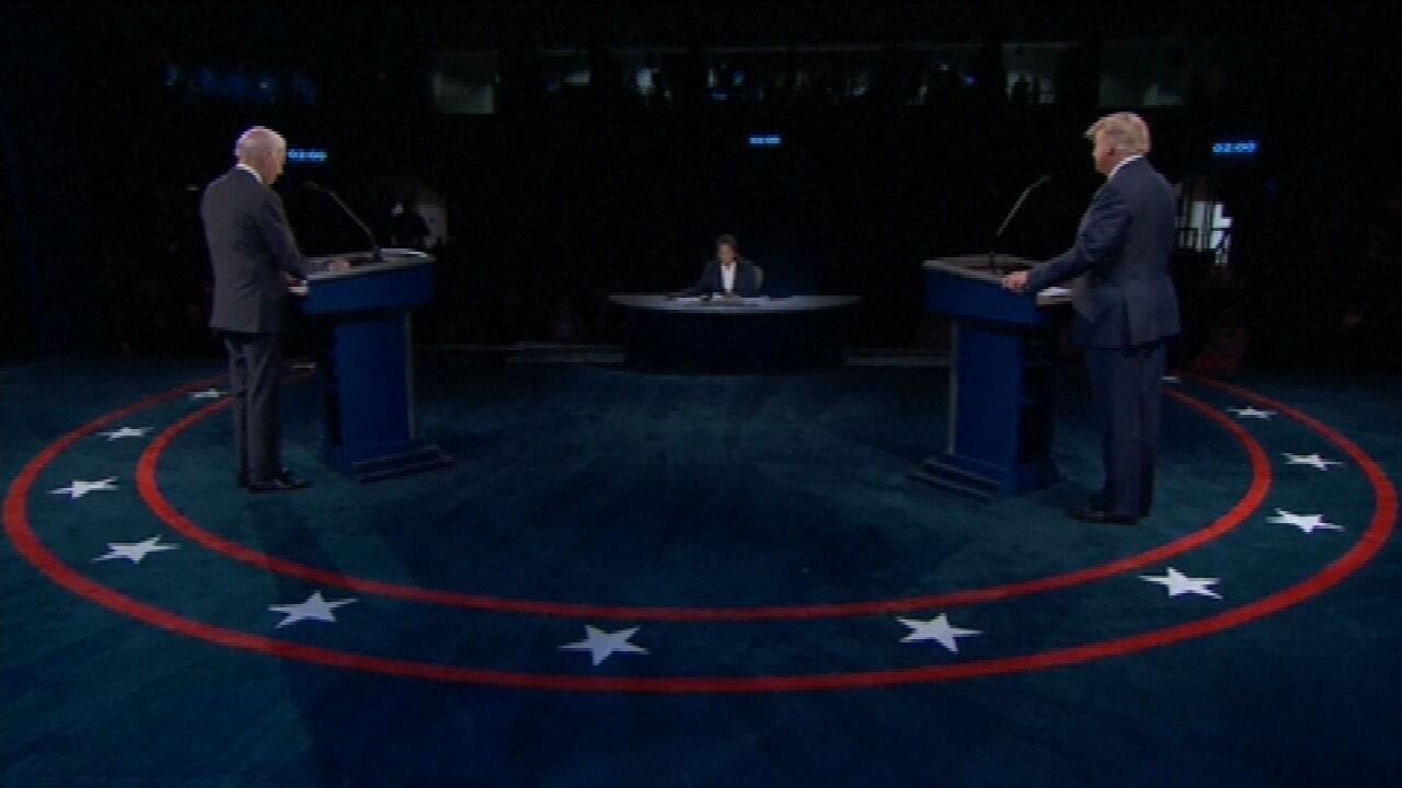 Guga Chacra sobre último debate entre Trump e Biden: 'Foi um empate'